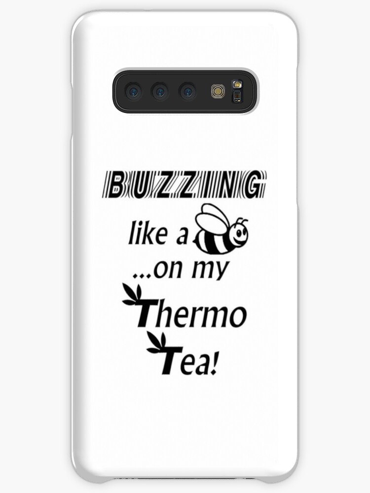 'Herbalife Thermo Tea Buzzing' Case/Skin for Samsung Galaxy by Slim-Art