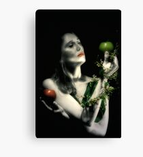 lilth with imortality and knowledge Canvas Print