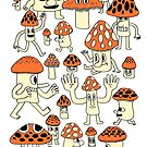 Mushrooms by jackteagle