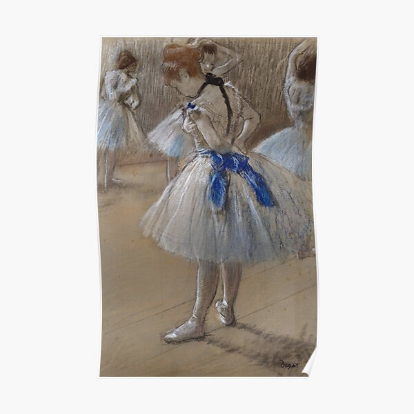 Dancer by Edgar Degas, 1880 Poster