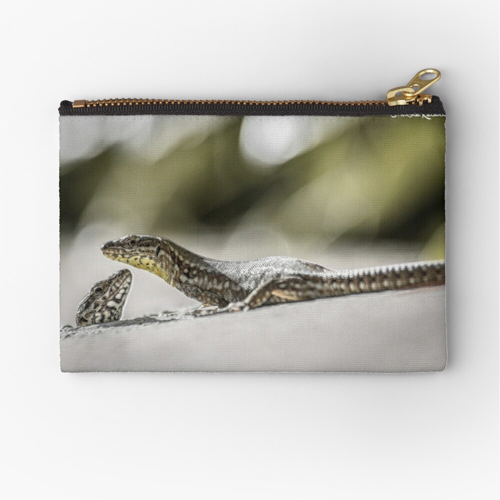 The charming lizards Zipper Pouch