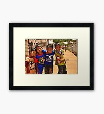 Cool Kids Framed Print