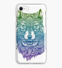 Abstract Wolf iPhone Case/Skin