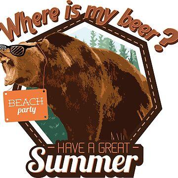 summer bear by Ivanslin