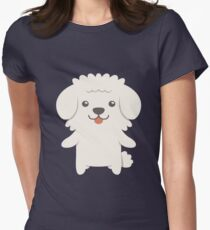 Bichon Frise Women's Fitted T-Shirt