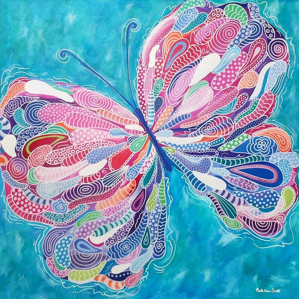 Fluttering Jewel by Beth Ann  Scott
