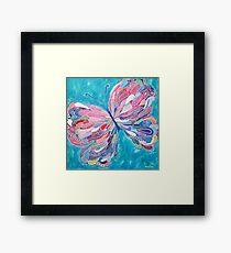 Fluttering Jewel Framed Print