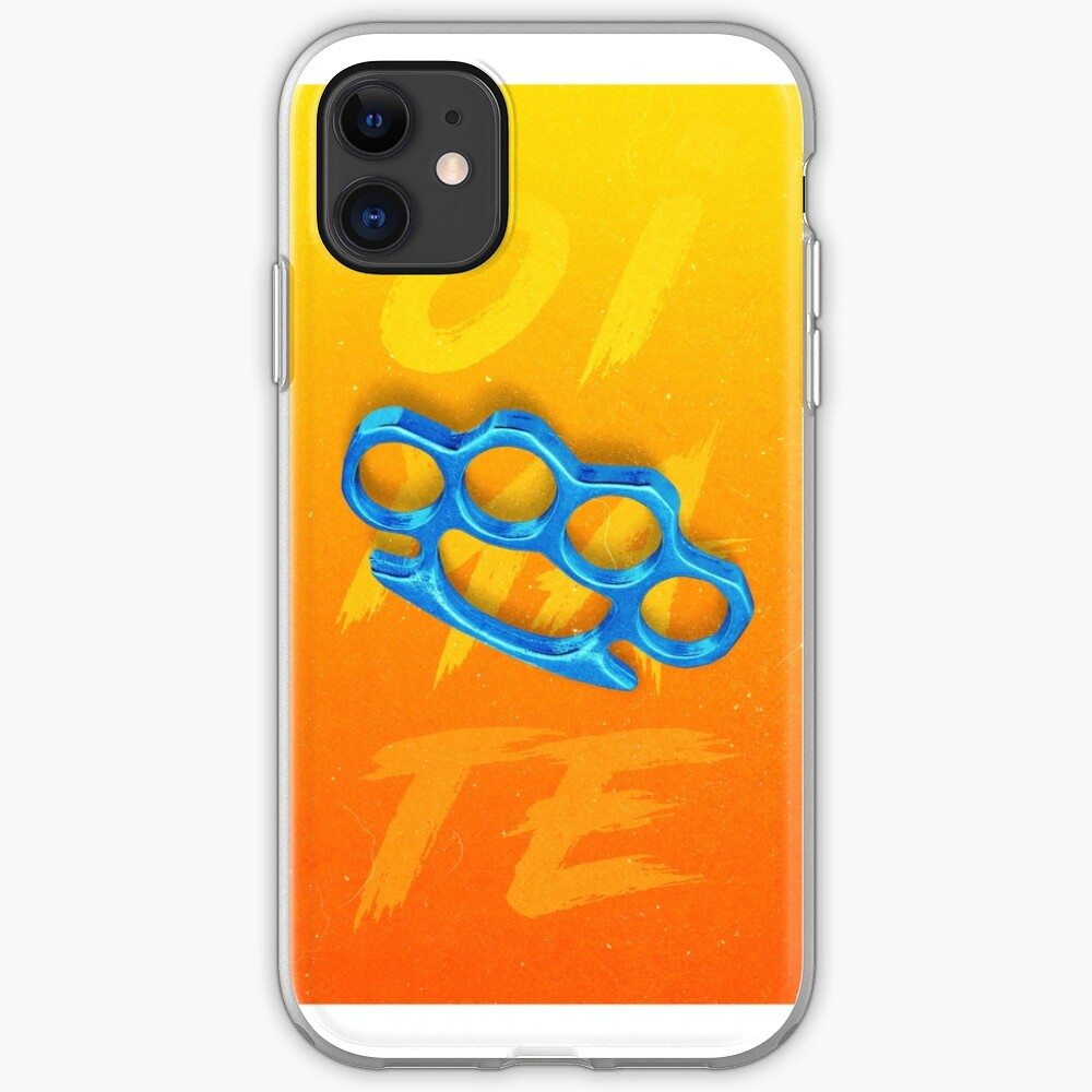 Knuckles iPhone Soft Case