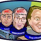 Hug a Hoodie by GaffaUK