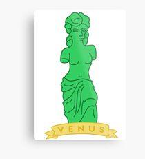 The Simpsons - Gummy Venus Metal Print