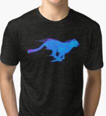 OUTRUN CHEETAH Tri-blend T-Shirt