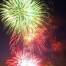 Australia Day Fireworks by Melanie Roberts