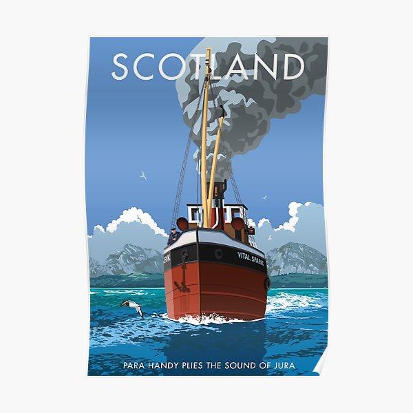 Scotland, Para Handy plies the Sound of Jura Poster