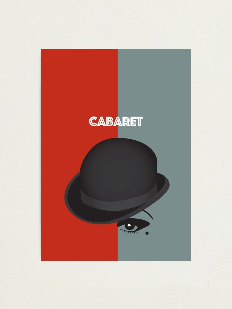 Alternate view of Cabaret - Alternative Movie Poster Photographic Print