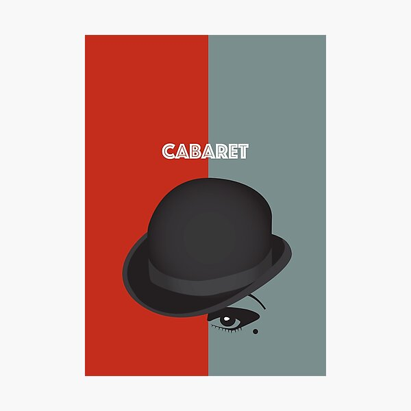 Cabaret - Alternative Movie Poster Photographic Print