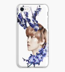Blossoms Blue iPhone Case/Skin