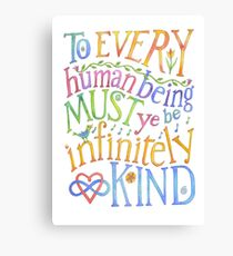 Infinitely Kind Canvas Print