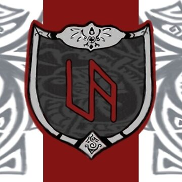Ulfadnor Art Shield and Tribal by Wjcurfman