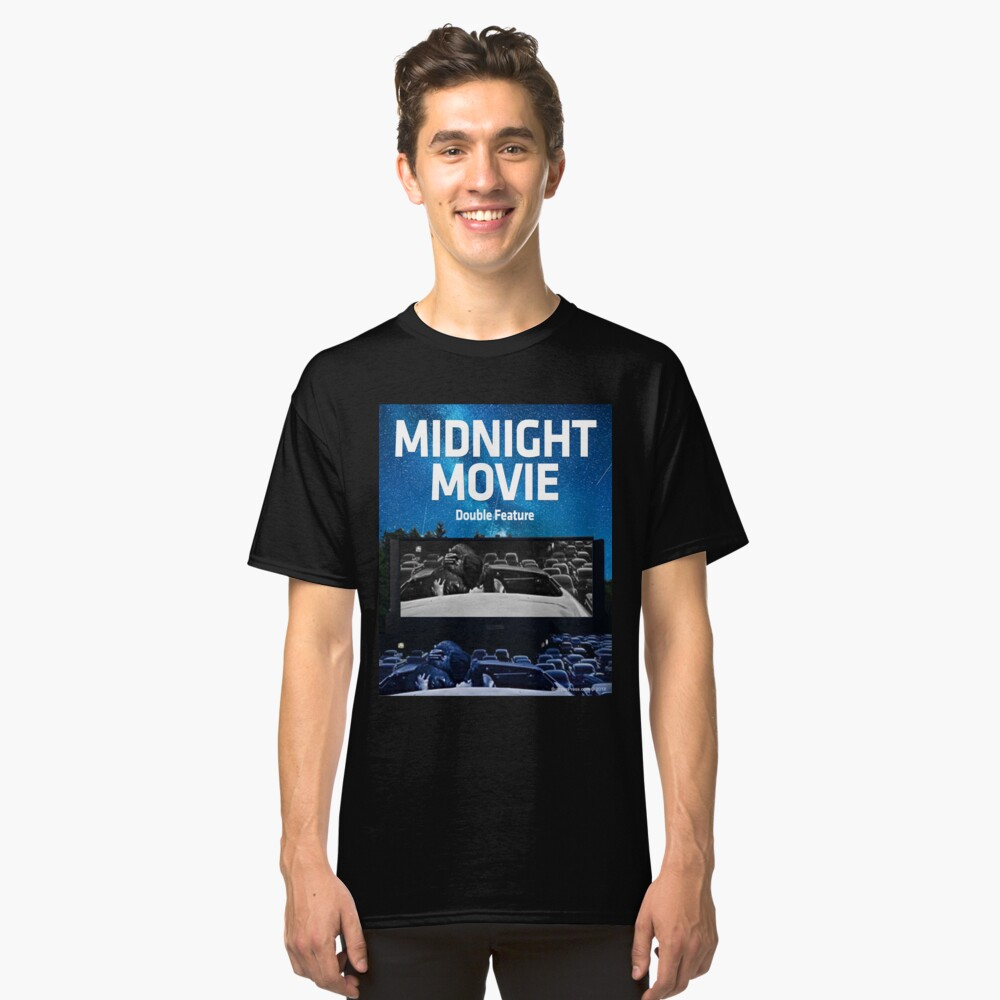 Midnight Movie: Double Feature Classic T-Shirt Front