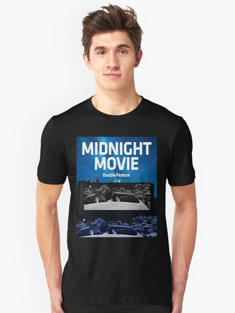 Midnight Movie: Double Feature Unisex T-Shirt Front