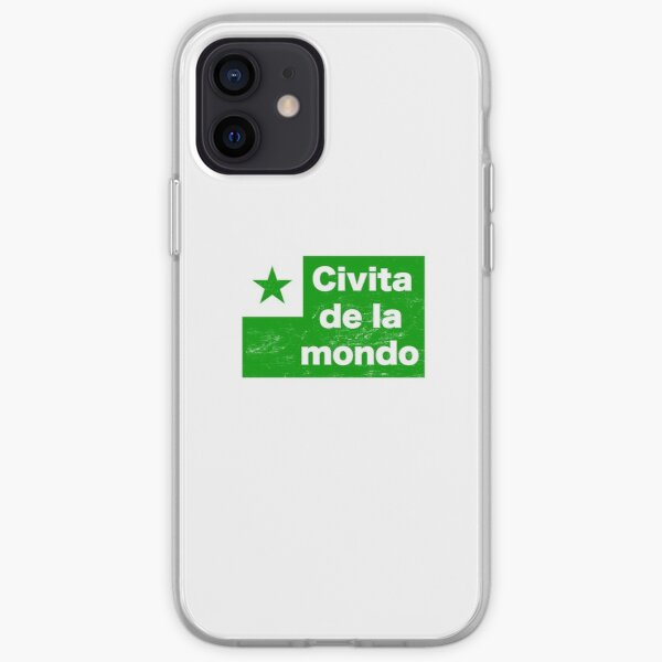 Esperanto - Civita De La Mondo iPhone Soft Case