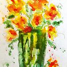 Orange Splendor by Claire Bull