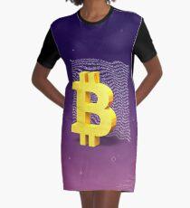 Bitcoin Graphic T-Shirt Dress