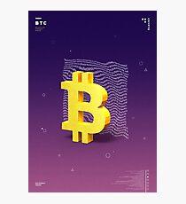 Bitcoin Photographic Print