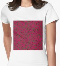 Rhubarb Spores Women's Fitted T-Shirt