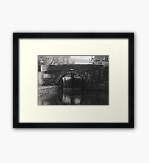 Castle Street Bridge Framed Print