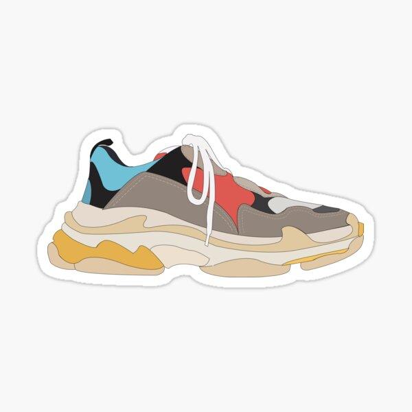 Hypebeast sneakers Sticker