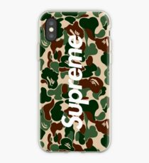 Bape Sup iPhone Case
