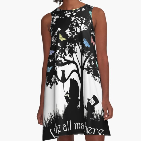 We're All Mad Here A-Line Dress