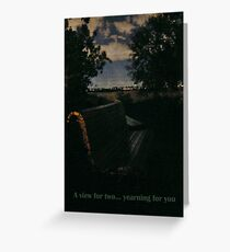 A View for Two Greeting Card