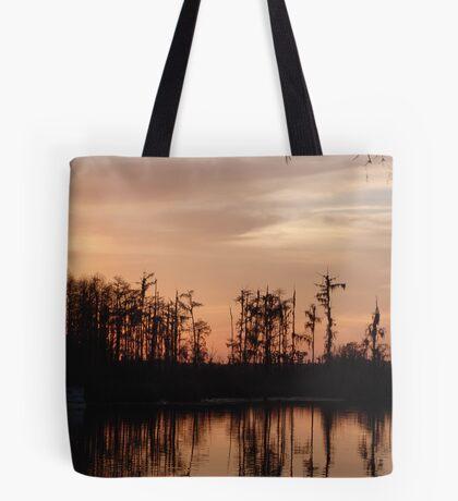 Sunset on Bear Creek Tote Bag