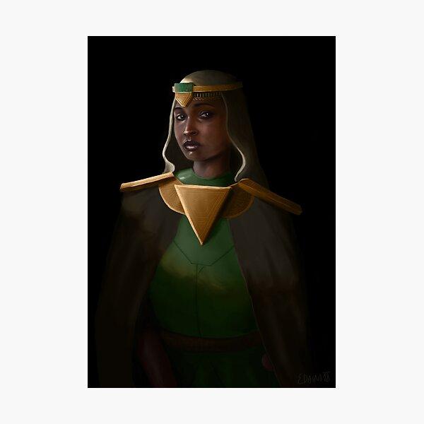 Kalai the Enchanter Photographic Print