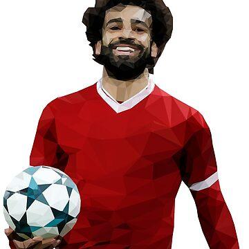 Mo Salah - Liverpool LFC Design de ConArtistLFC