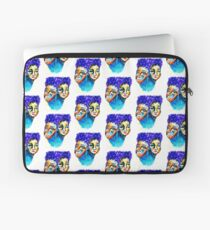 purple hair Laptop Sleeve