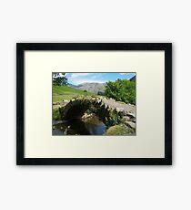 The Lake District: Bridge at Wasdale Head Framed Print