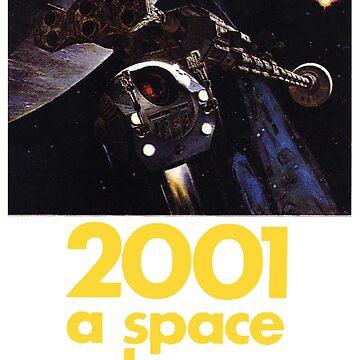 2001 Ein Weltraum Odyssey Shirt! von comastar