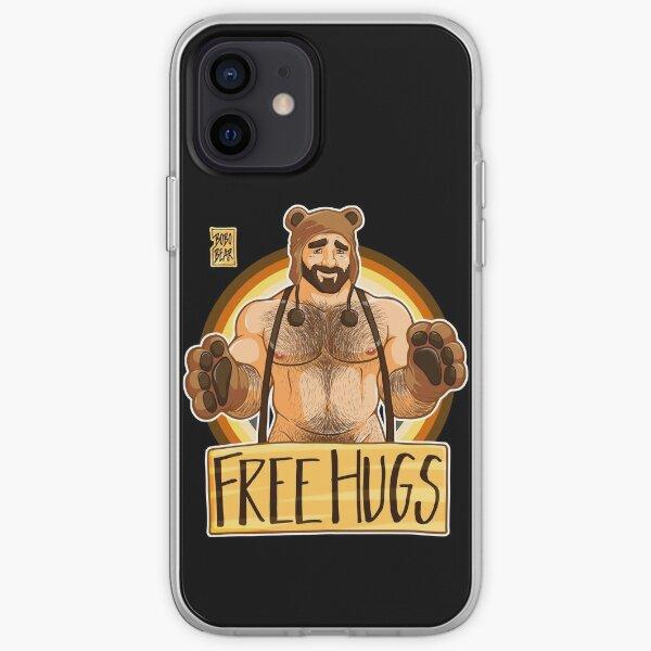 ADAM LIKES HUGS - BEAR PRIDE iPhone Soft Case