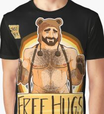 ADAM LIKES HUGS - BEAR PRIDE Graphic T-Shirt