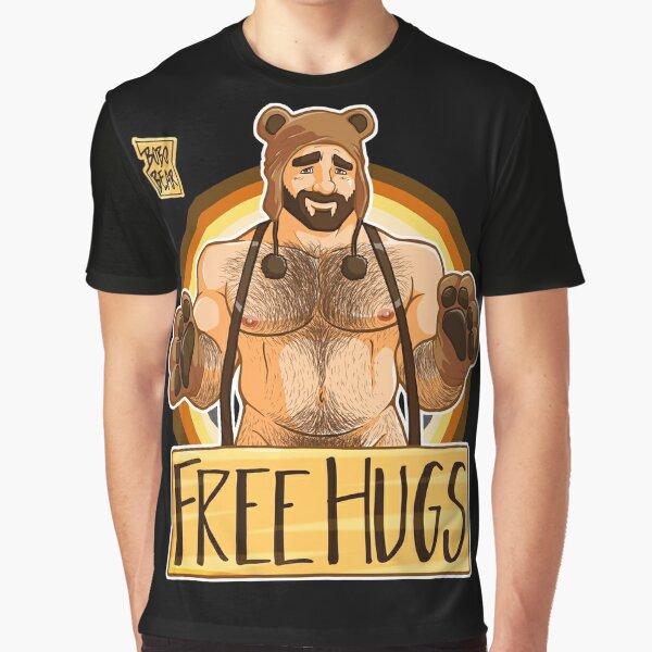 ADAM LIKES HUGS - BEAR PRIDE Graphic T-Shirt