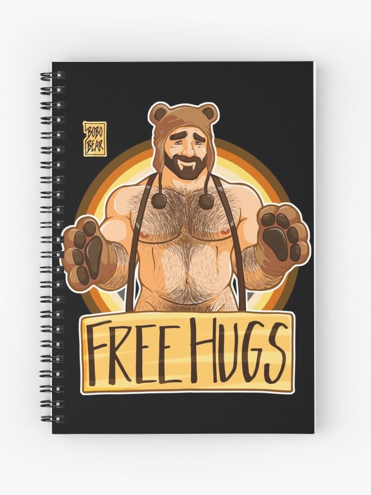 Cuaderno De Espiral Adam Le Gusta Abrazos Oso Orgullo De