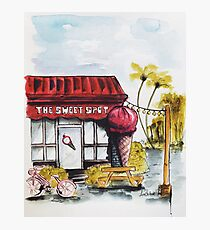 The Sweet Spot Icecream Shop Photographic Print