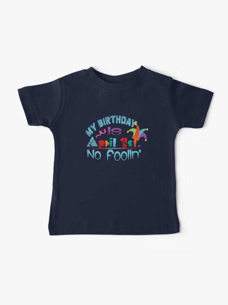 April Fools Day Short-Sleeves Tee Baby Girls