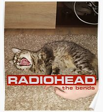The bends cat Poster