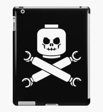 Plastic Block Pirates Funny Geek Nerd iPad Case/Skin