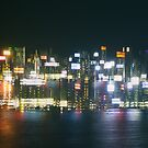 Hong Kong Lights by Shari Mattox-Sherriff