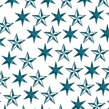 Star Shaped Vintage Microphone Pattern by franmcclellan